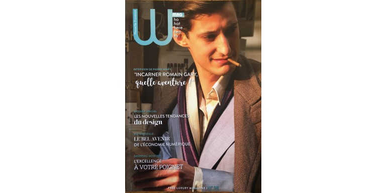 Wmag n°8 - L'Emotion d'un premier parfum