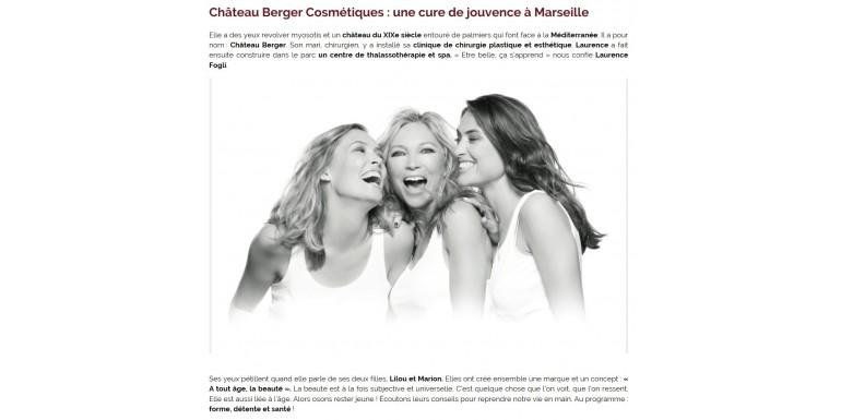 Luxe Magazine - Une cure de jouvence à Marseille