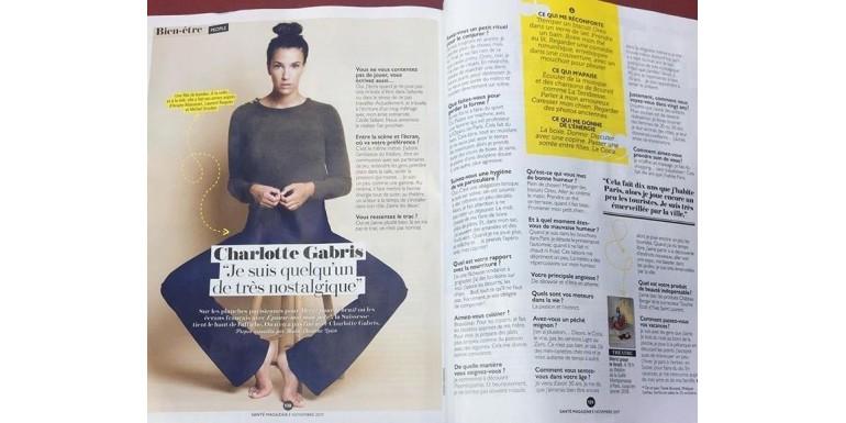 Santé + - Interview de Charlotte Gabris
