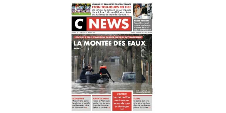 Pop up store à Paris du 9 au 11 Février...C'est dans CNews !