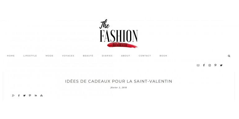 'The  Fashion Revolver' partage ses bonnes idées de cadeaux pour la Saint-Valentin