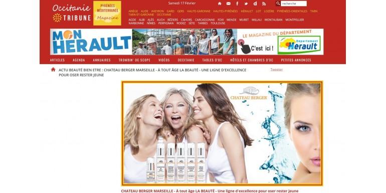 Occitanie Tribune - La maison marseillaise Chateau Berger a une gamme de 22 produits exceptionnels !