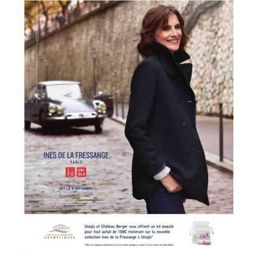 Elle Magazine - Association Ines de la Fressange, Château Berger et Uniqlo !