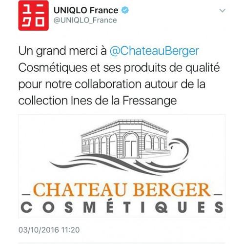 Remerciements d'Uniqlo