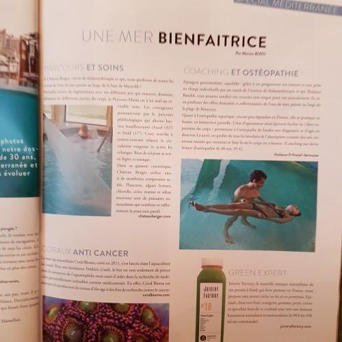 WMag - Château Berger, fontaine de jouvence. La mer bienfaitrice.