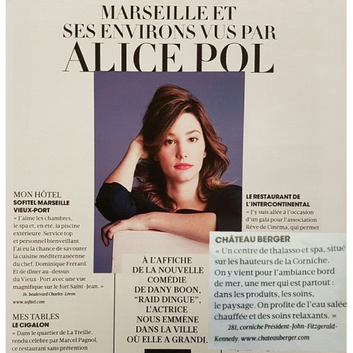 Alice Pol,  Marseille, sa ville