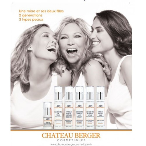 Shooting campagne Château Berger Cosmétiques