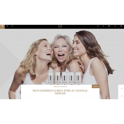 Well-being with Château Berger Cosmetics