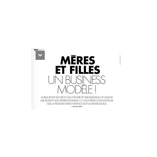 Chateau Berger dans le ELLE de cette semaine sur le sujet « Mères et Filles : un business modèle ! ».
