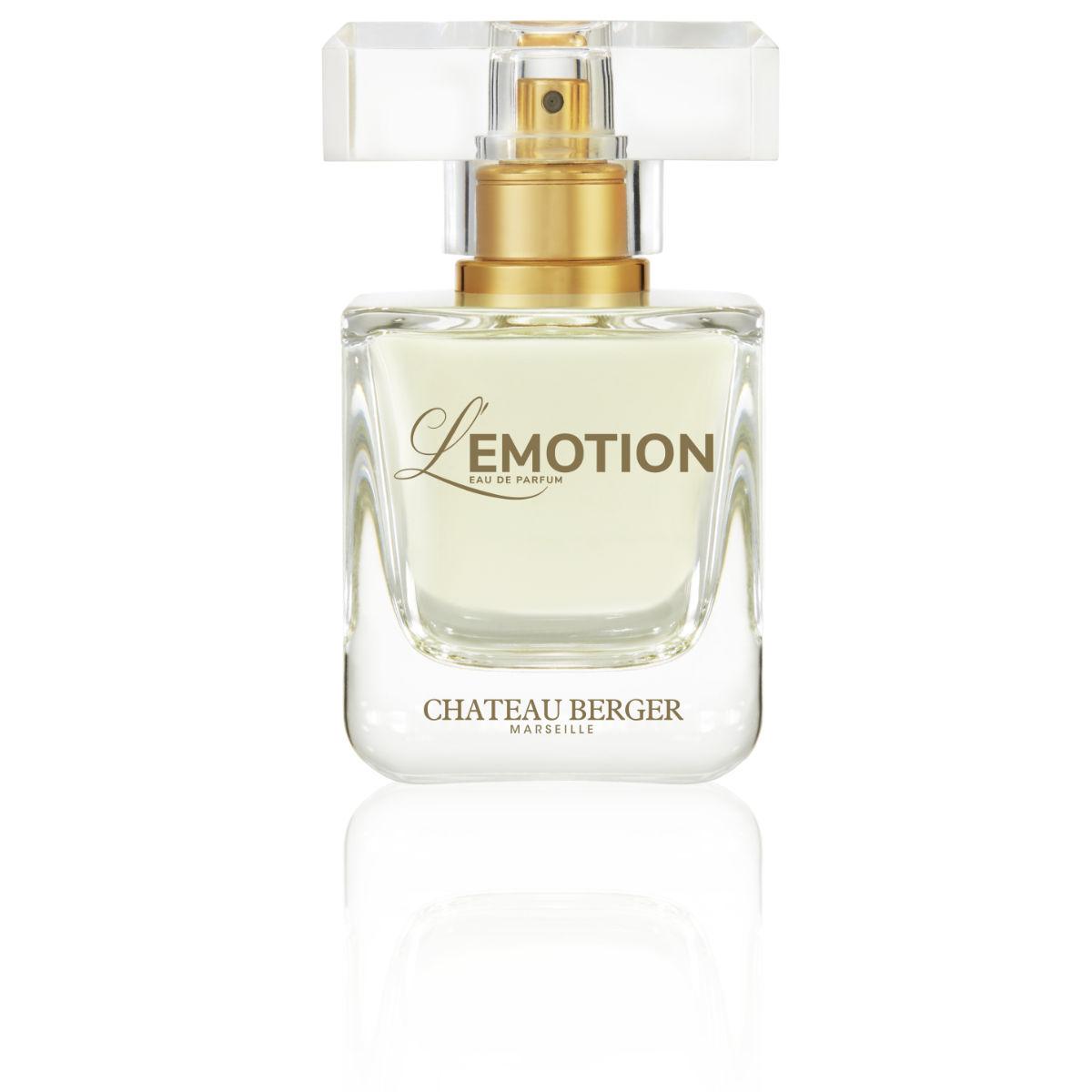 Parfum Femme L'Emotion, nouveau parfum de Château Berger Cosmétiques