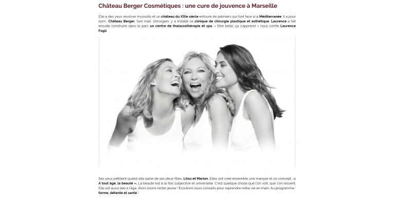 Luxe Magazine - A rejuvenation cure in Marseille