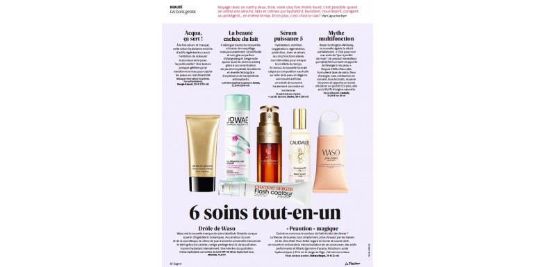 Flash contour in  La Parisienne