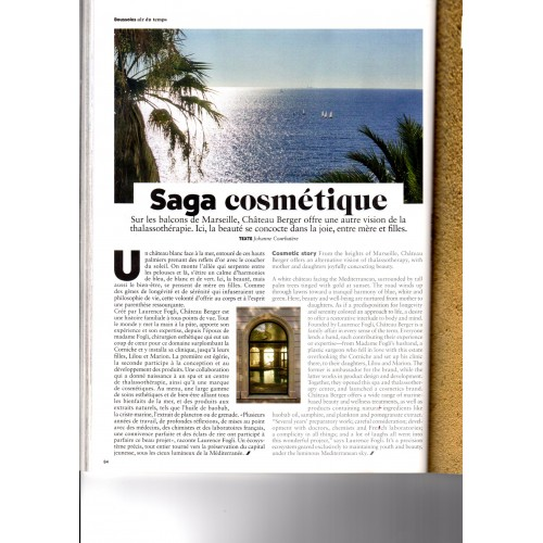 Air France Magazine - Cosmetic Saga