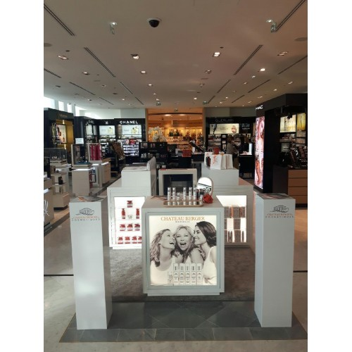 A Chateau Berger Cosmetics corner at Printemps !