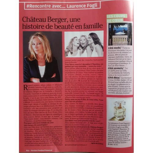 Femina discovers L'Emotion. Lots of work, complicity, love and a dream.