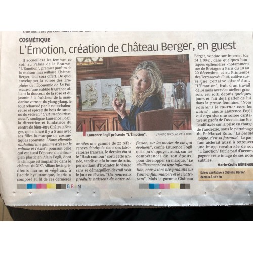 L'Emotion, creation of Chateau Berger !