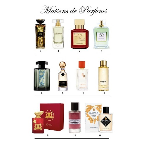 Spécial Maisons de parfums du site Made by Frenchies