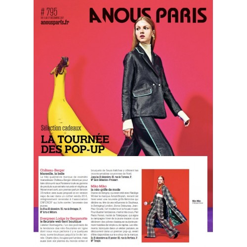 A nous Paris - Le Top des pop-up